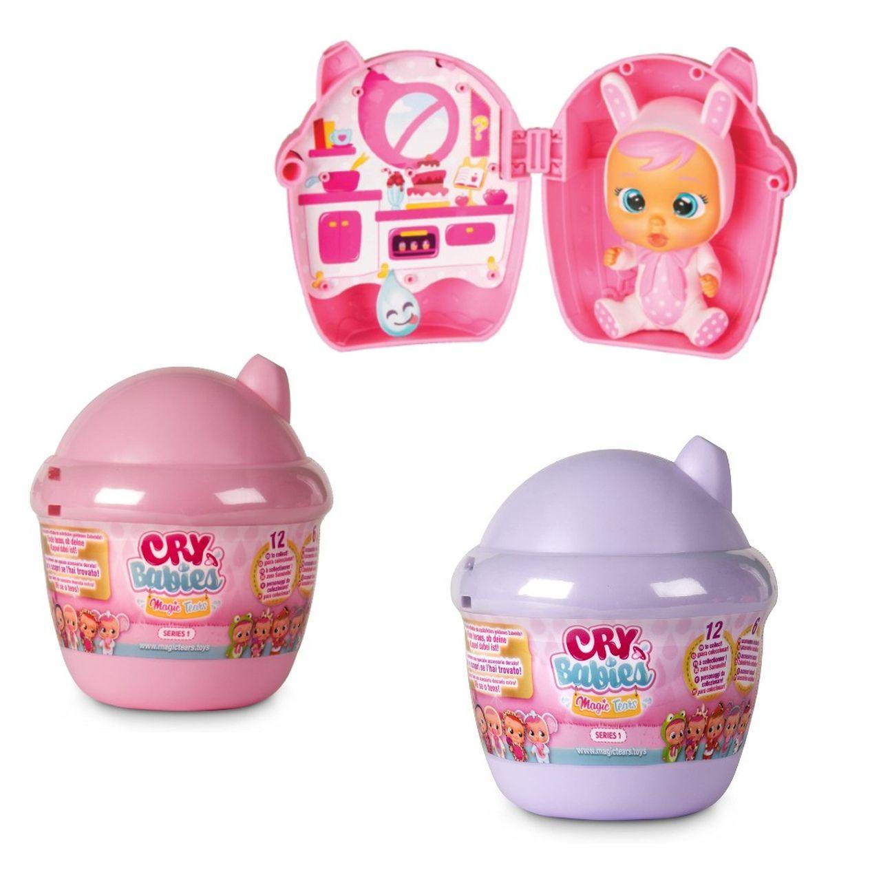 Boneca Mini Cry Babies Surprise Chora De Verdade - Multikids