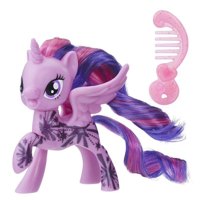 Boneca Mini My Little Pony Twilight Sparkle Glitter - Hasbro