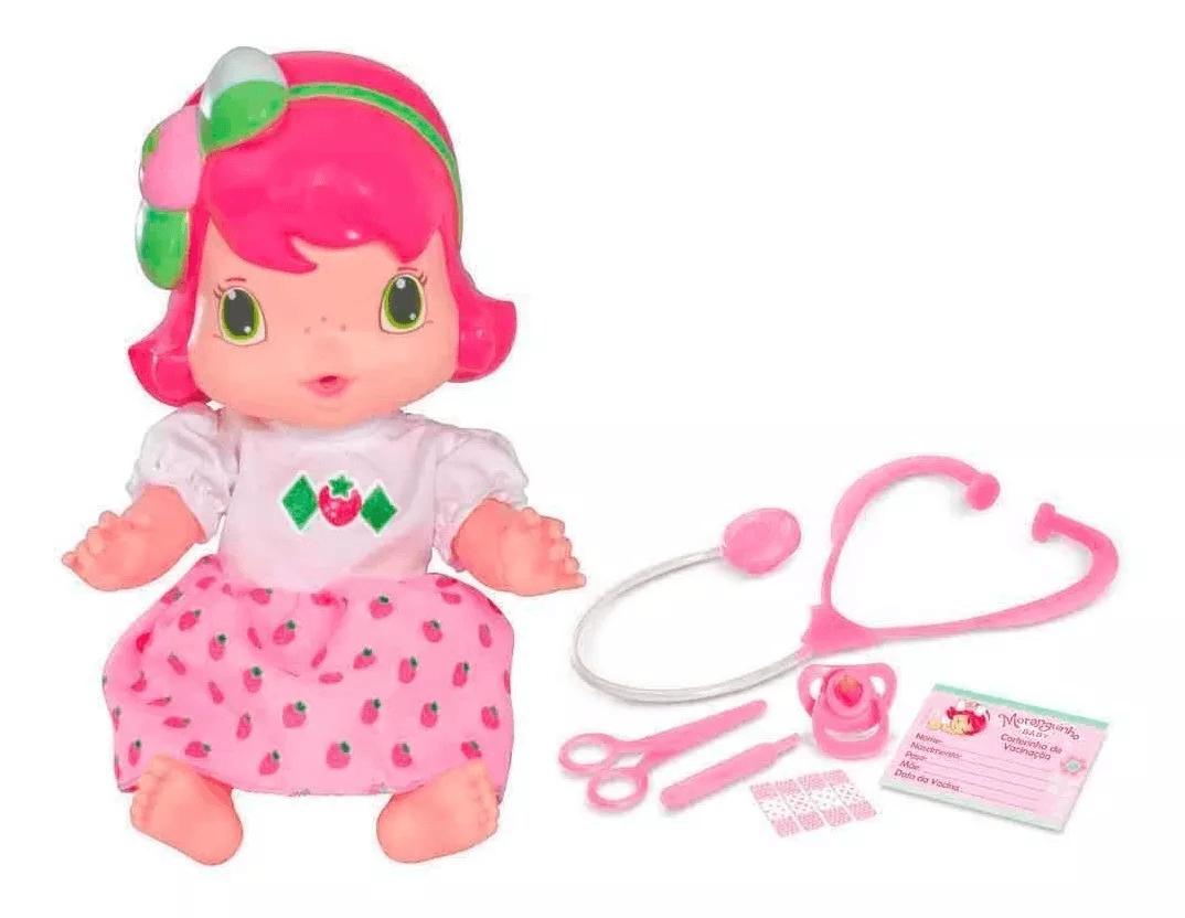 Boneca Moranguinho Baby Dodói - Mimo