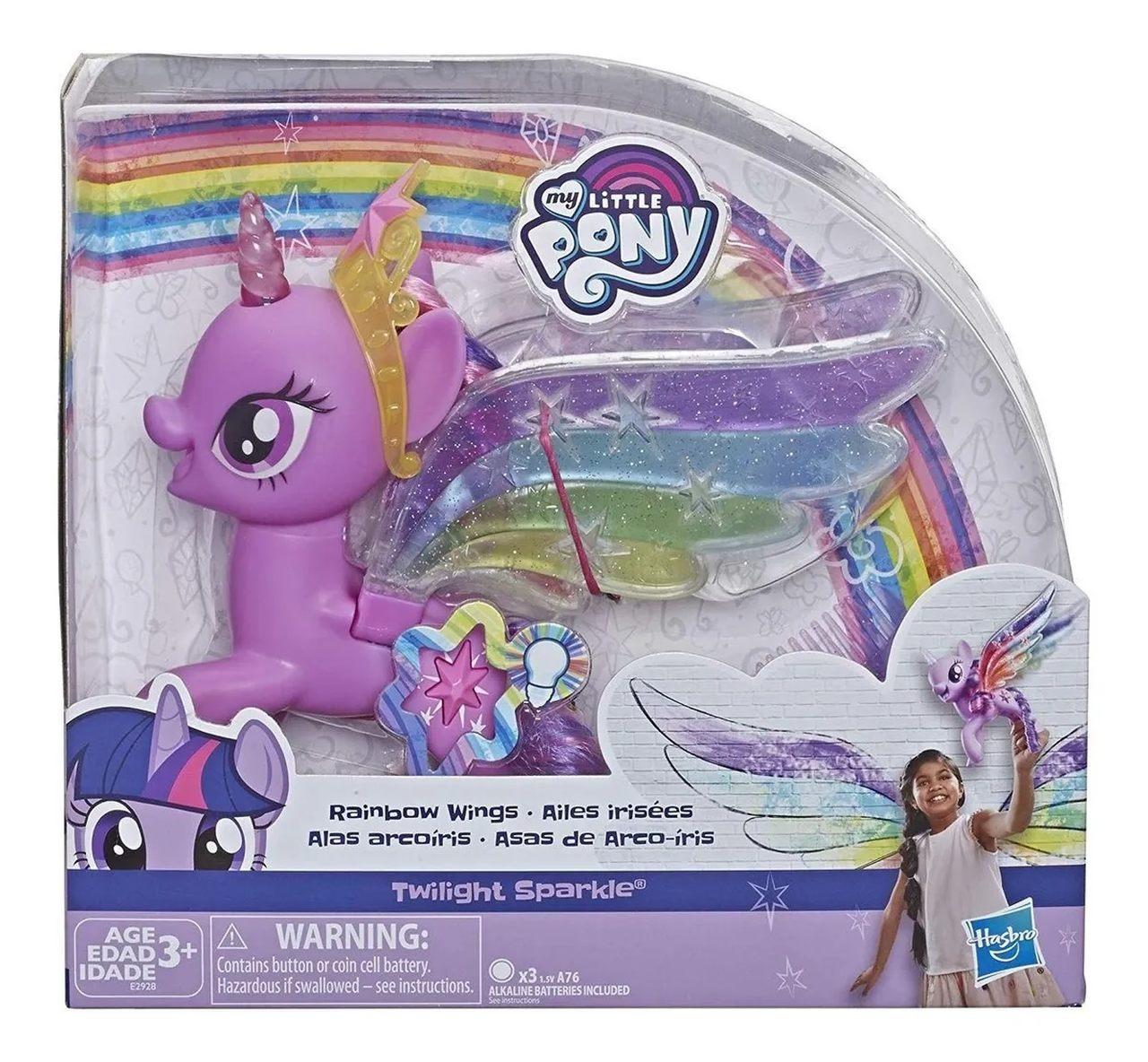 Boneca My Little Pony Asas De Arco-íris Twilight - Hasbro