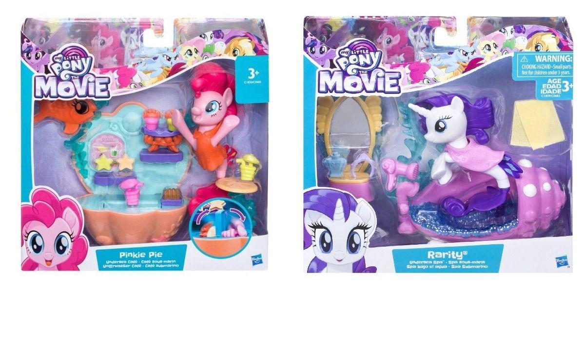 Boneca My Little Pony Kit c/ 2 - Pinkie Pie+Rarity Hasbro