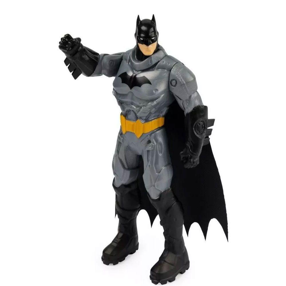 Boneco Batman Com Armadura De Batalha Original 15cm - Sunny 2187