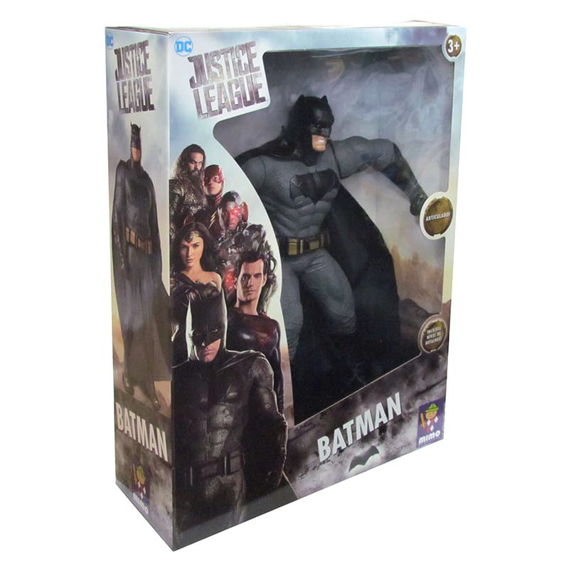 Boneco Batman 45cm Gigante Dc Comics Liga Da Justiça - Mimo