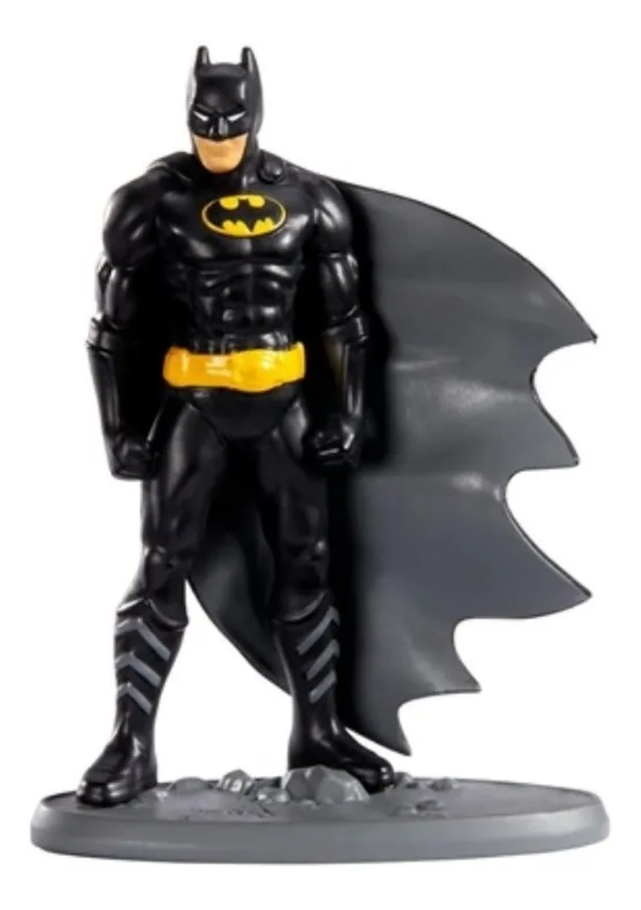 Boneco Batman Miniatura Liga Da Justiça - Mattel