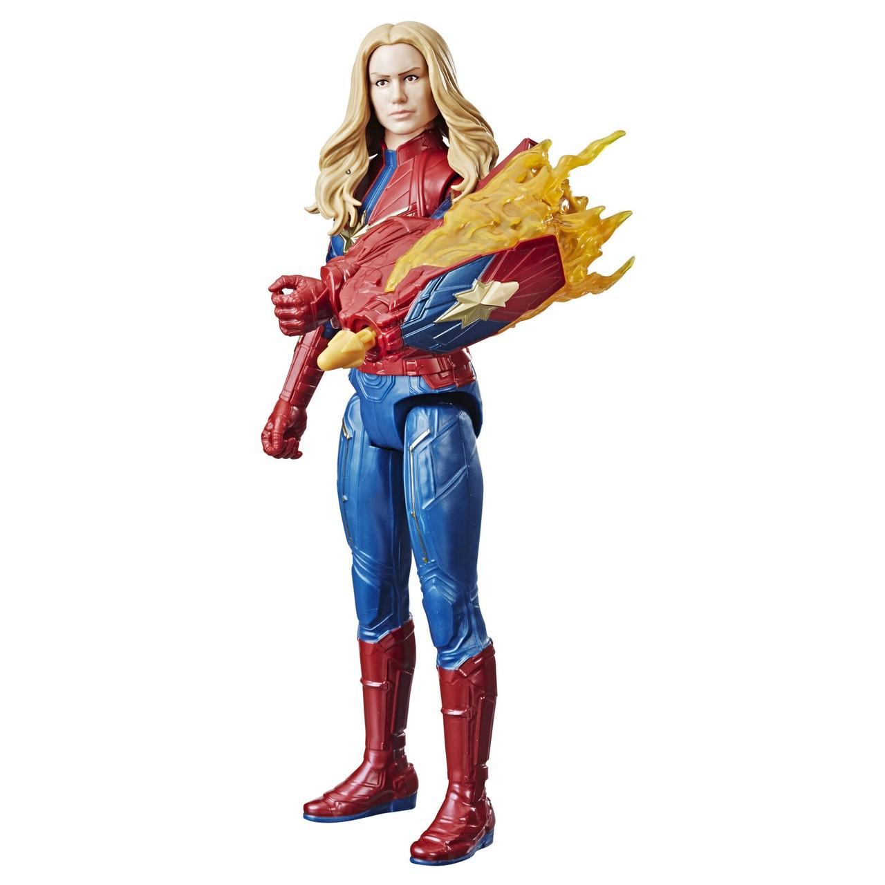Boneco Capitã Marvel 30Cm Titan Hero Power FX  - Hasbro