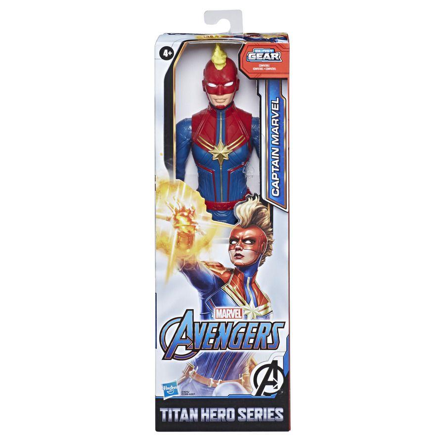 Boneco Capitã Marvel modo Cósmico 30cm Blast Gear - Hasbro