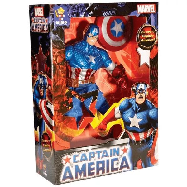Boneco Capitão America Premium 50cm - Mimo