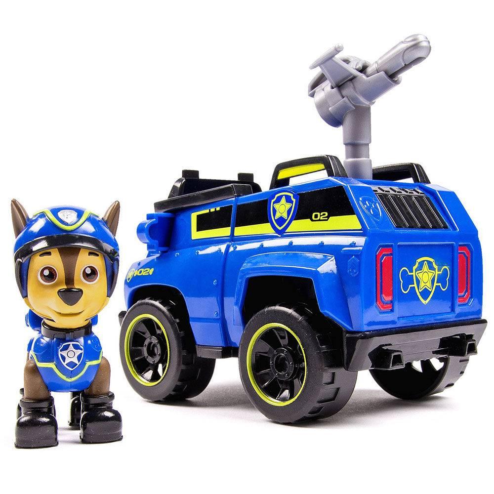 Boneco Com Veículo - Patrulha Canina - Chase Spy Cruiser - Sunny