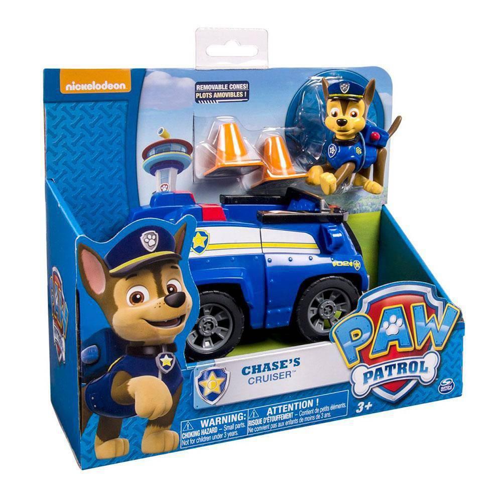 Boneco Com Veículo - Patrulha Canina - Cruiser Chase - Sunny