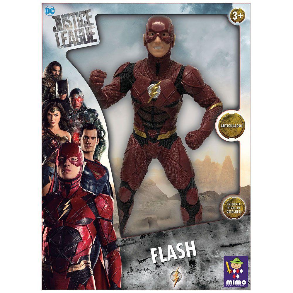 Boneco Flash Dc Comics 50 Cm Liga da Justiça  - Mimo