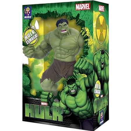Boneco Giagente Hulk Verde 50cm Premium Marvel - Mimo