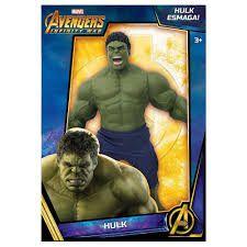 Boneco Hulk Guerra Infinita Marvel 50 Cm - Mimo