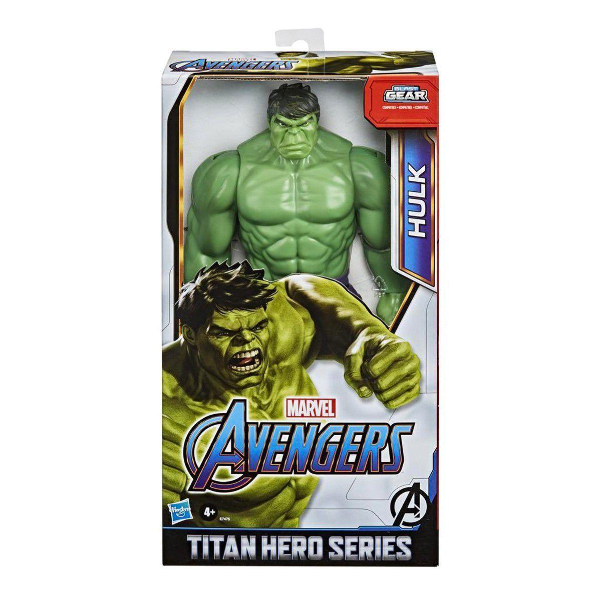 Boneco Hulk Titan Hero Blast Gear 28 Cm Hasbro - E7475