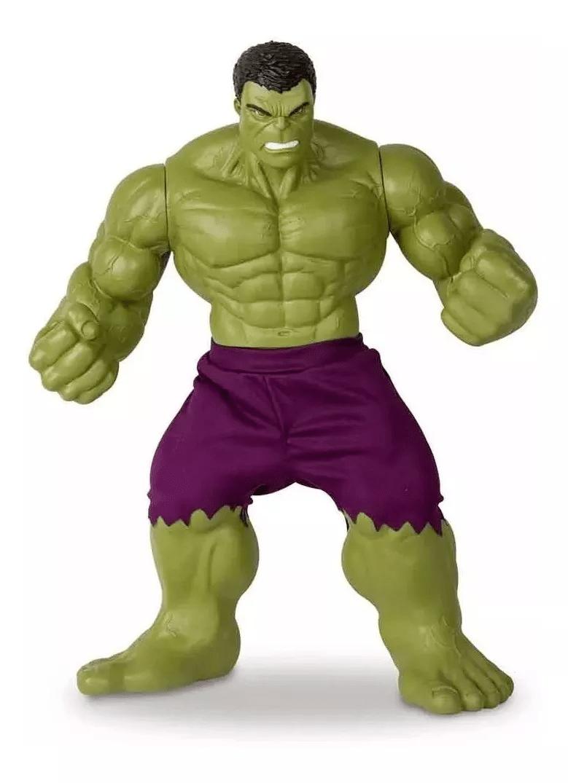 Boneco Hulk Verde Revolution 45cm Marvel - Mimo