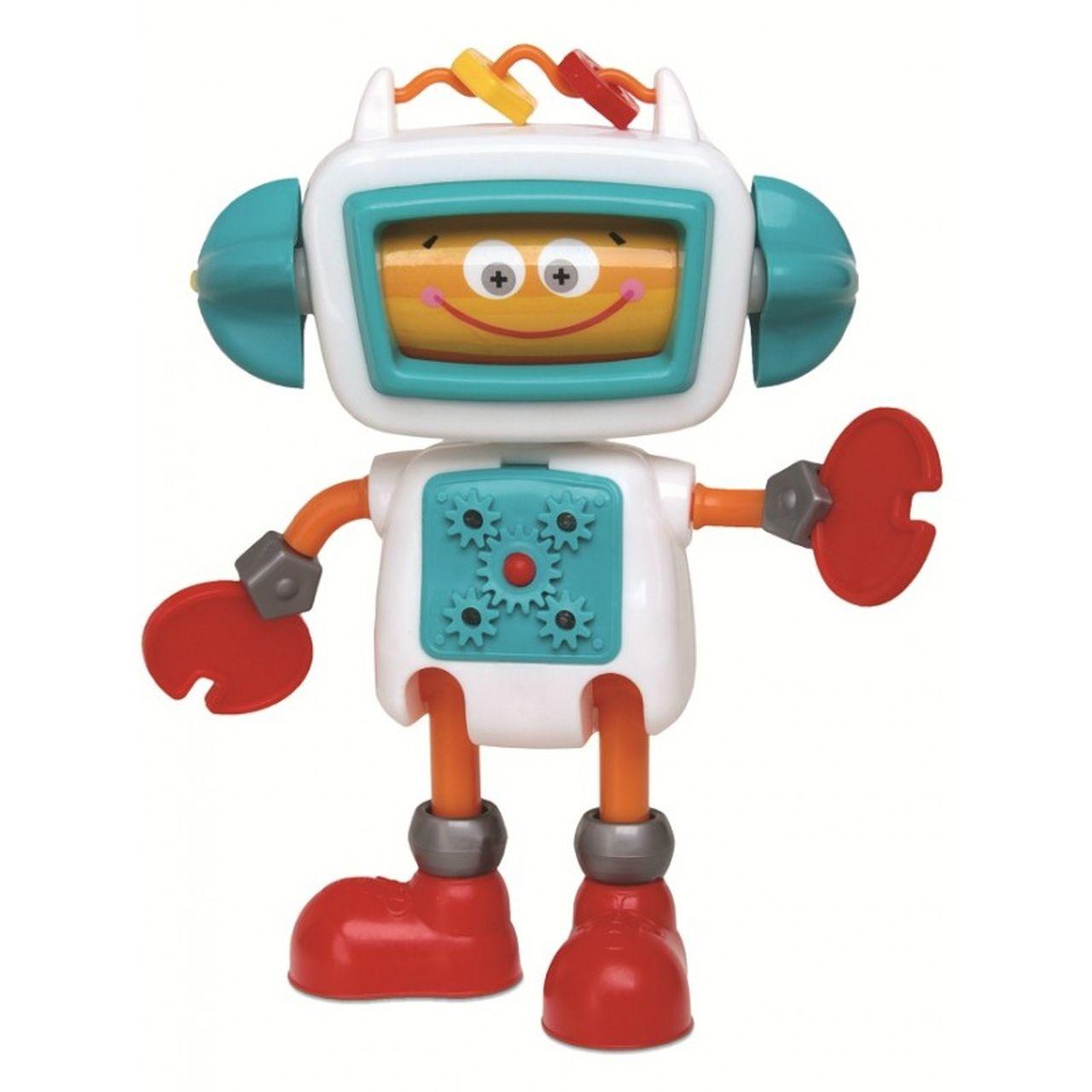 Boneco Infantil Roby Robô De Atividades - Elka