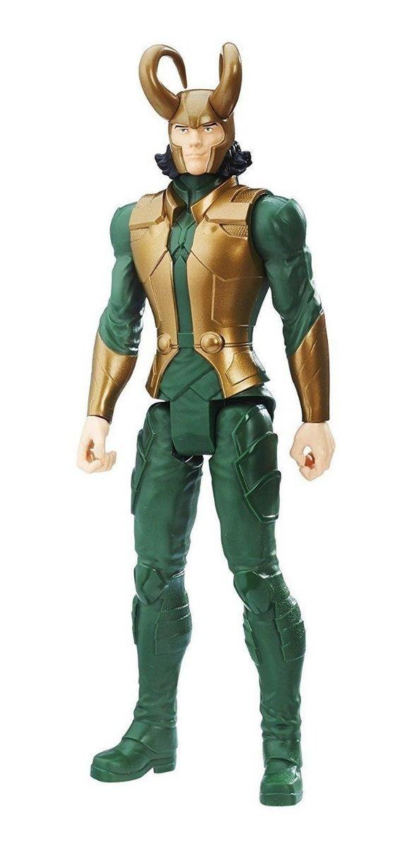 Boneco Loki Titan Hero Blast Gear - Hasbro E7874