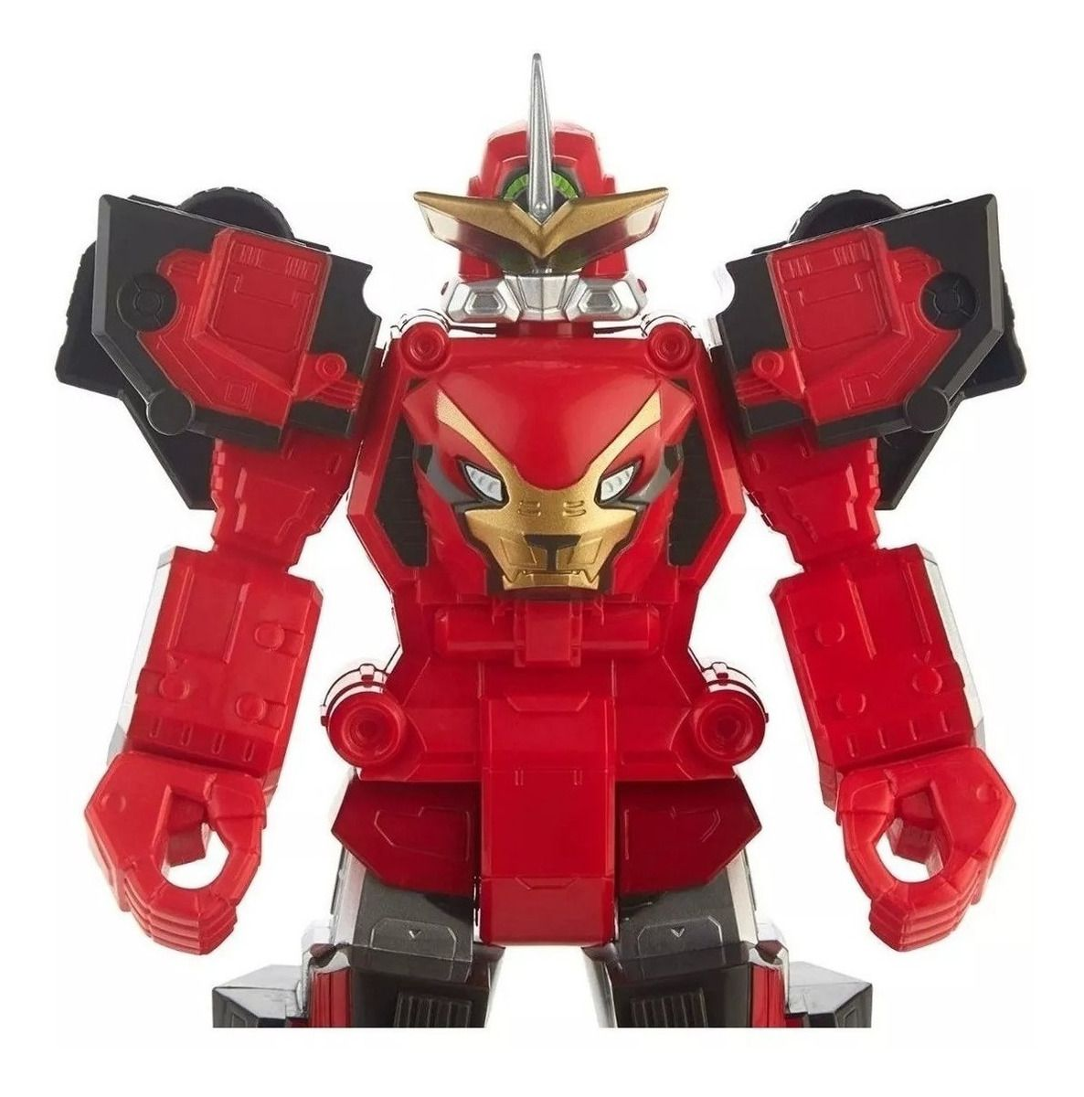 Boneco Megazord Power Rangers Vermelho 30cm - Hasbro E5900