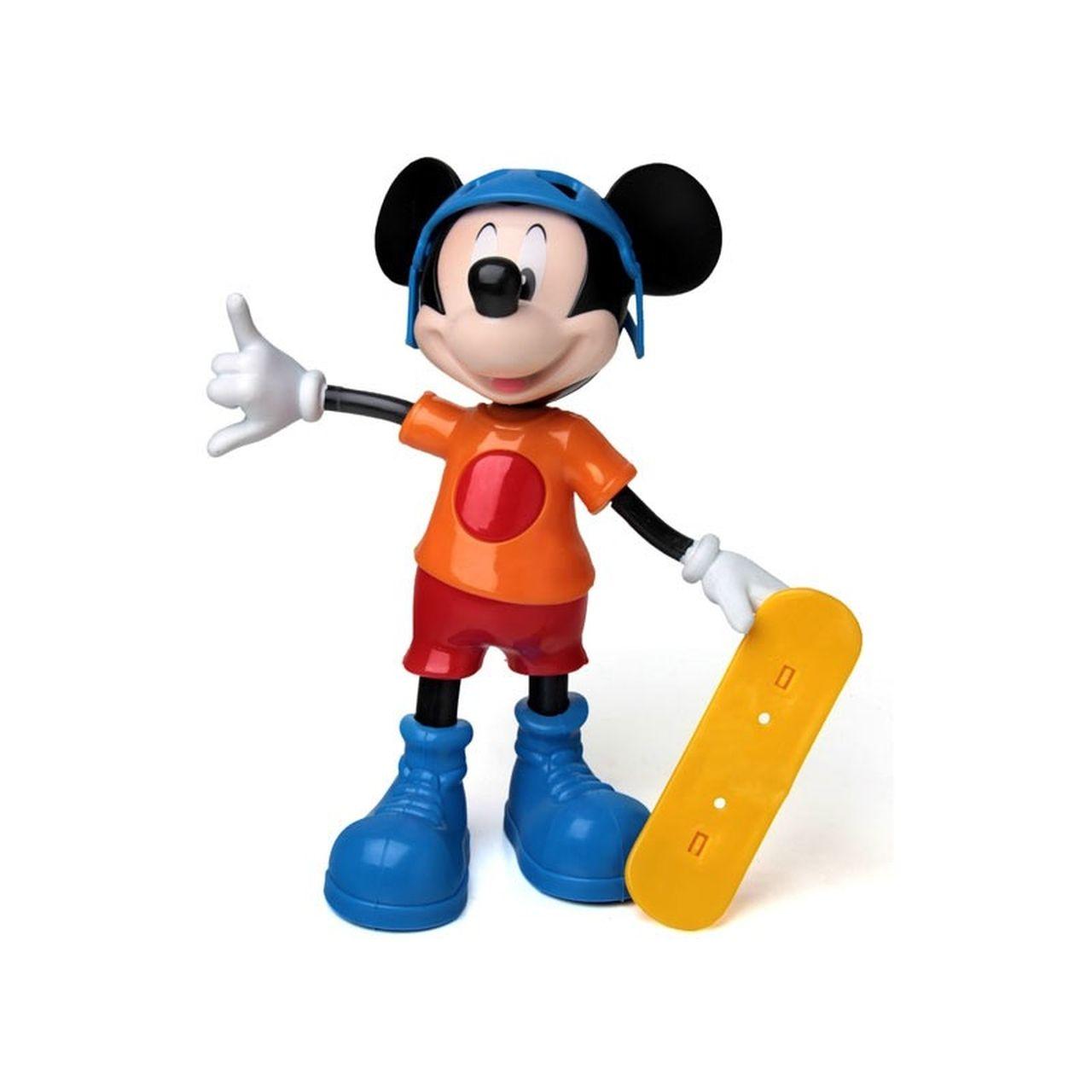 Boneco Mickey Radical Skate Disney 24cm - Elka