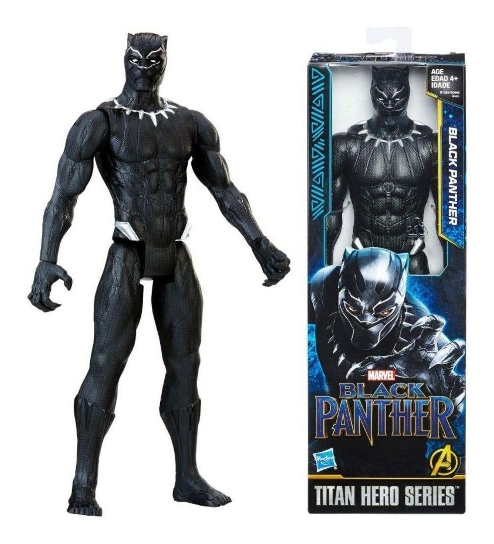 Boneco Pantera Negra Vingadores Power Fx - Hasbro E0869