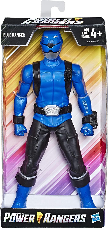Power Rangers Boneco  Ranger Azul 25 Cm - E5901 - Hasbro