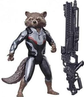 Boneco Rocket Raccoon 17Cm Avengers Ultimato - Hasbro