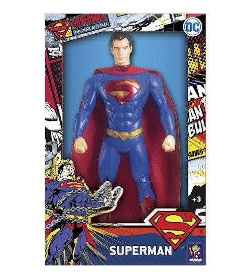 Boneco Superman Mimo 44 Cm Liga da Justiça Mimo 0927
