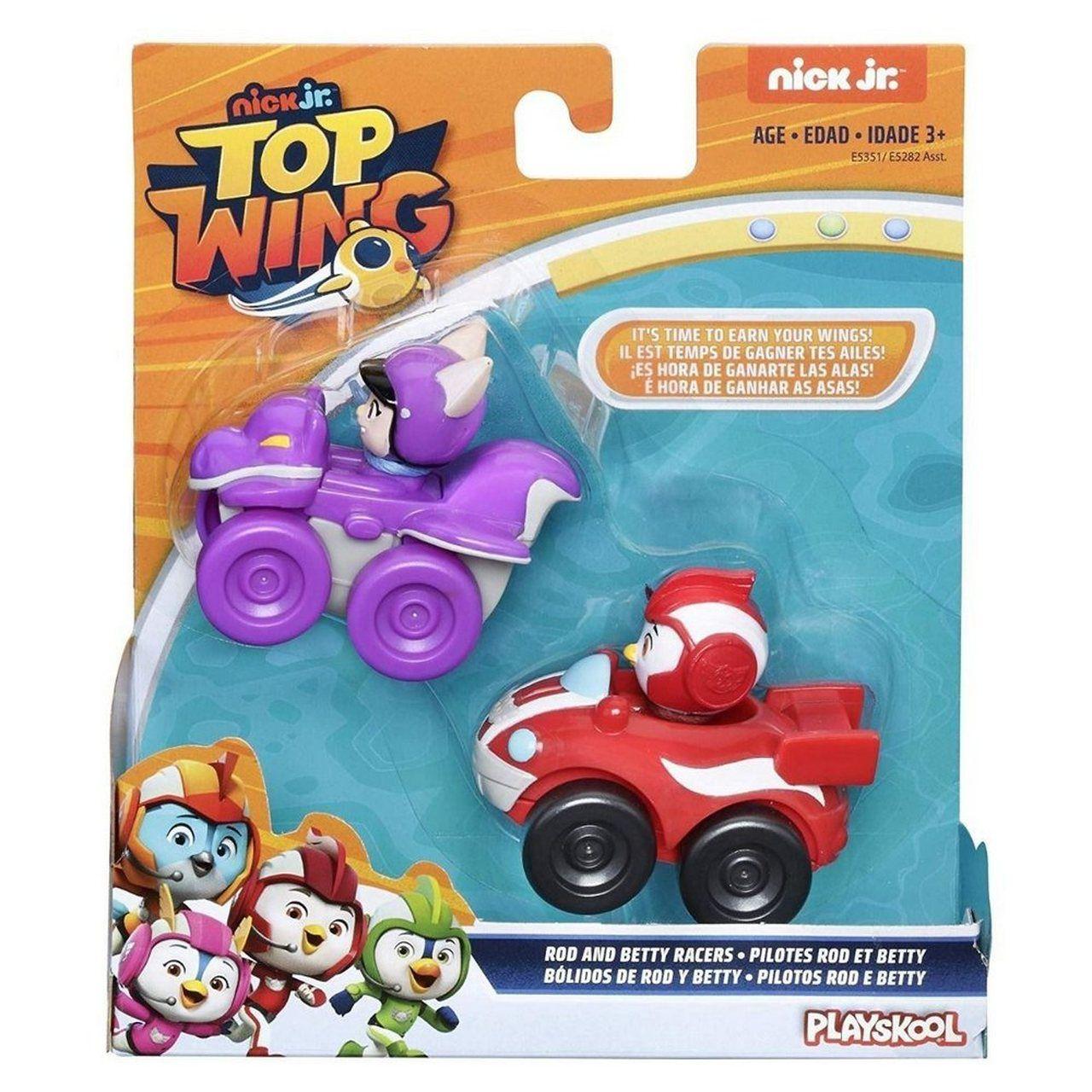 Boneco Top Wing Pilotos Rod e Betty - Hasbro E5282