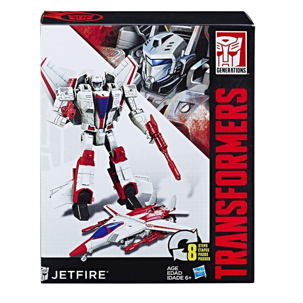 Boneco Transformers Autobot Jetfire 18cm - Hasbro B0785