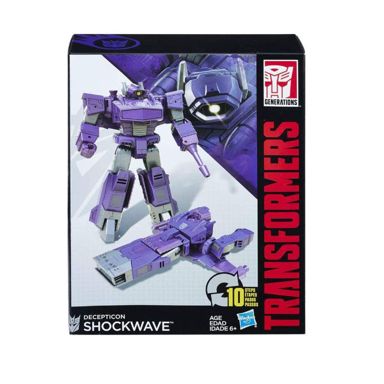 Boneco Transformers Decepticon Shockwave 18cm - Hasbro B0785