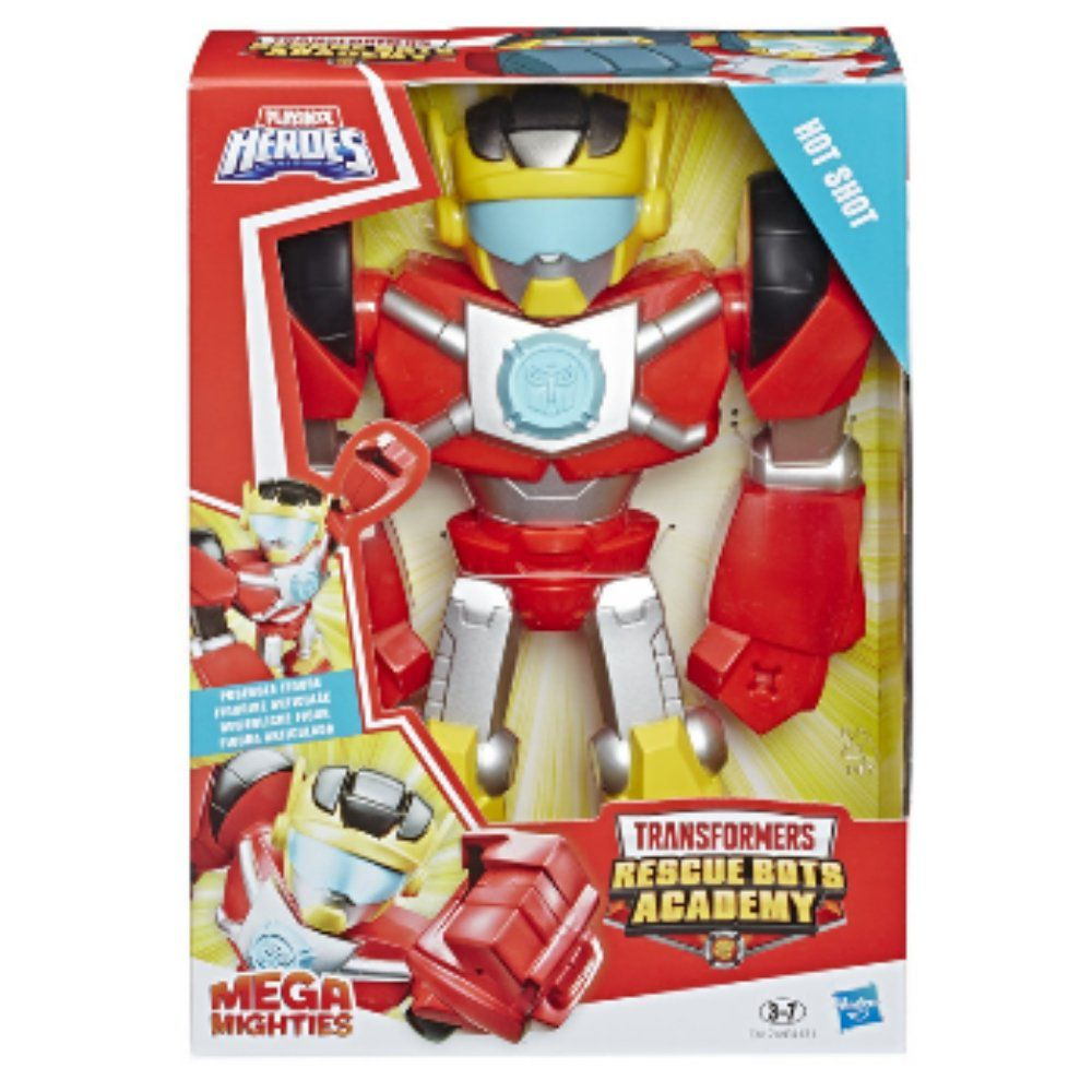 Boneco Transformers Rescue Bots Hot Shot Mighties Hasbro