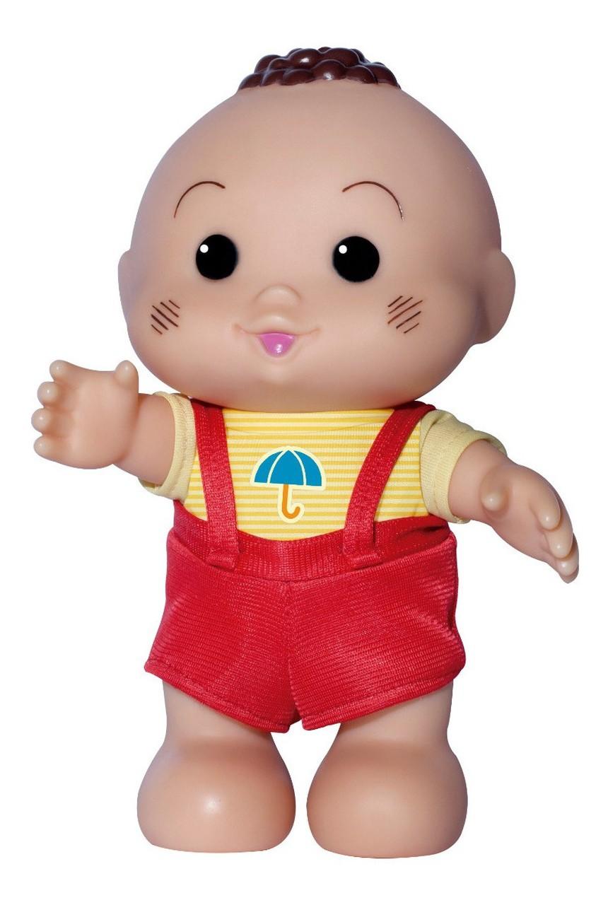 Boneco Turma da Mônica Iti Malia Cascão 24 cm Baby Brink