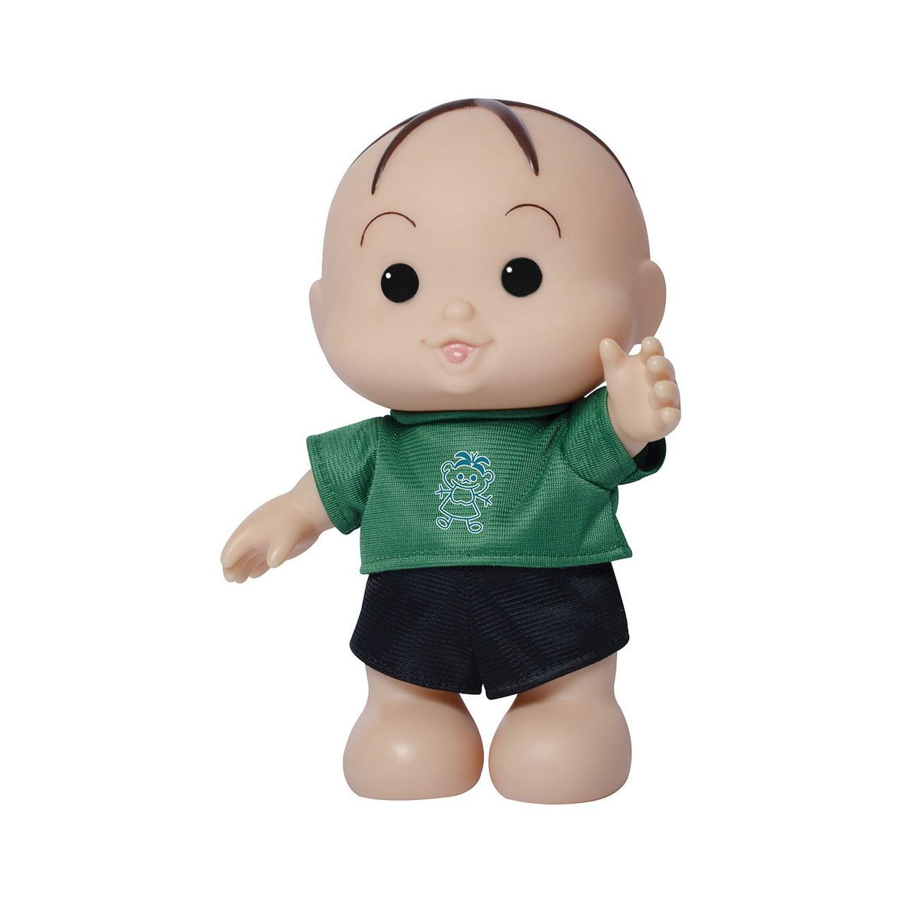 Boneco Turma da Mônica Iti Malia Cebolinha 24 cm Baby Brink