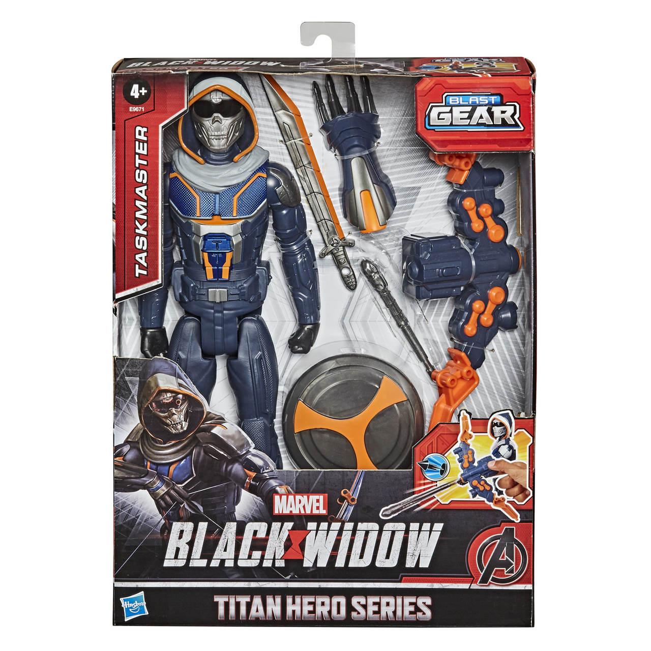 Boneco Vingadores Taskmaster Black Widow - Hasbro E9671