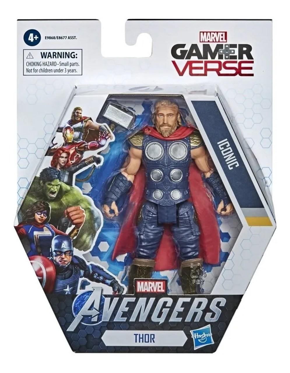 Boneco Vingadores Thor Game Verse - Hasbro E9868