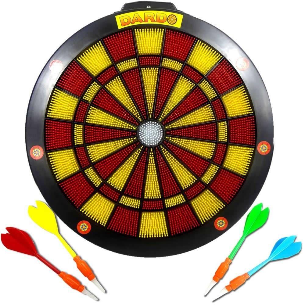 Jogo De Dardos  Com 4 Dardos Acerte O Alvo   5206 - Braskit