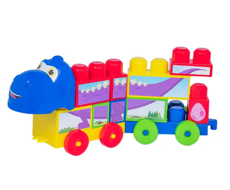 Brinquedo De Encaixar Coti Block - Cotiplás