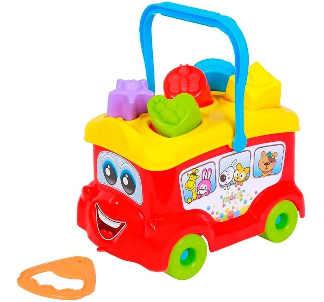 Brinquedo Didatico Baby Bus - Maral 4086