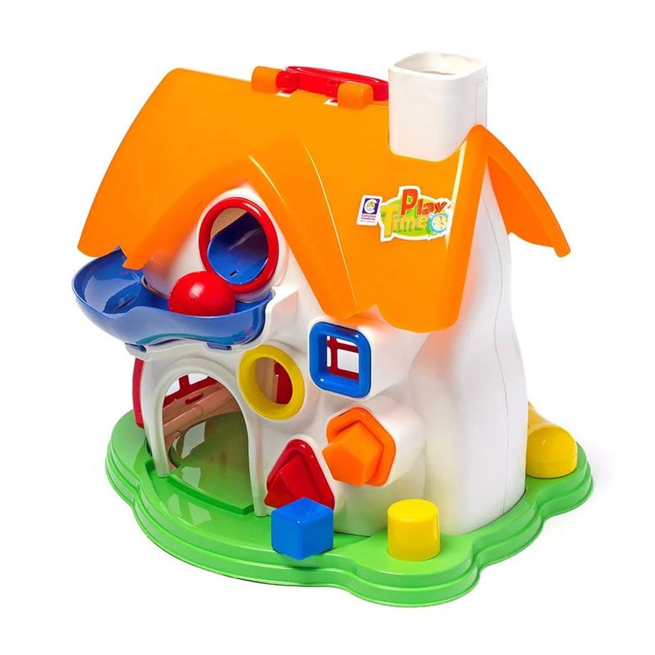 Brinquedo Didático Casinha De Atividades Play Time Cotiplás