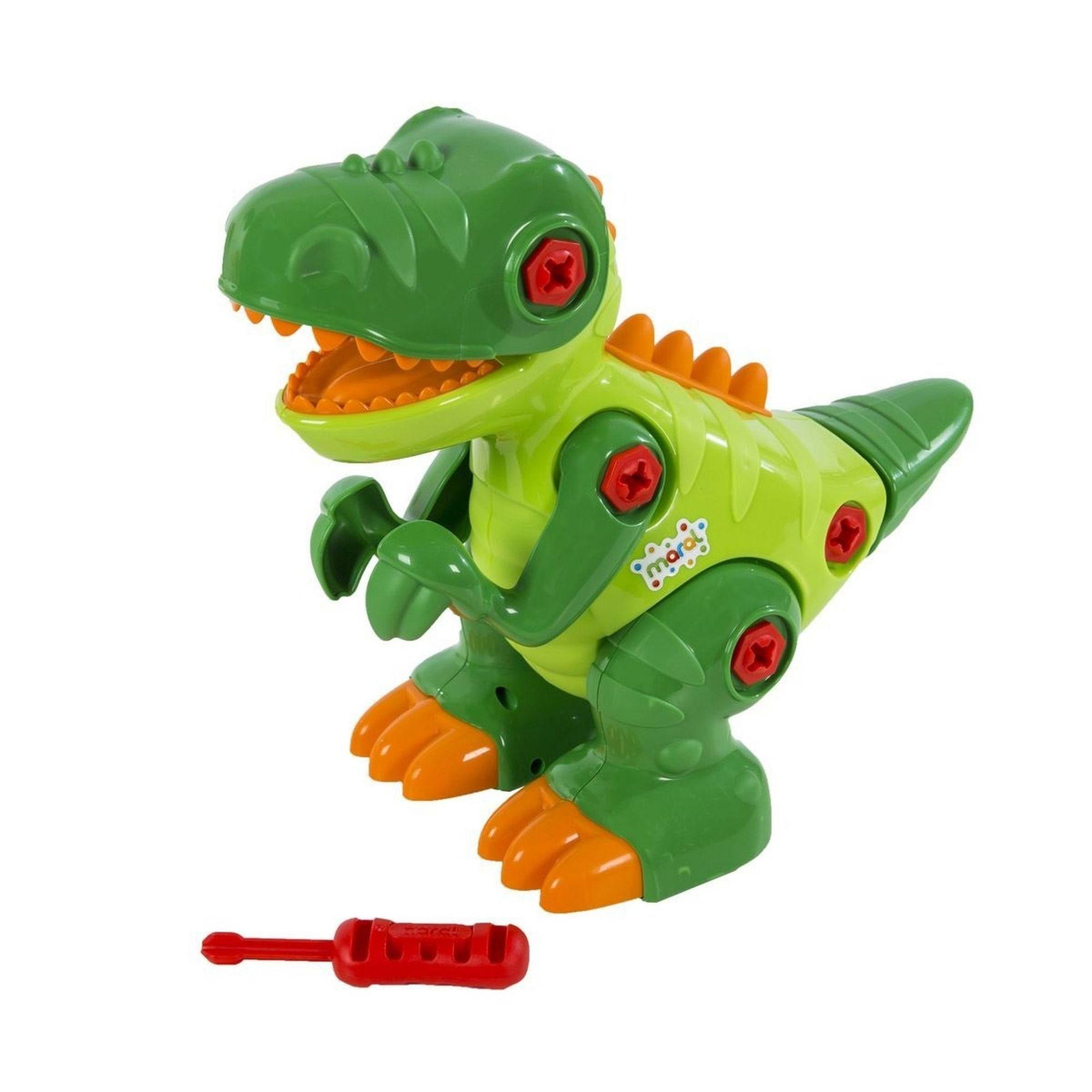 Brinquedo Dinossauro T-rex Com Som - Maral