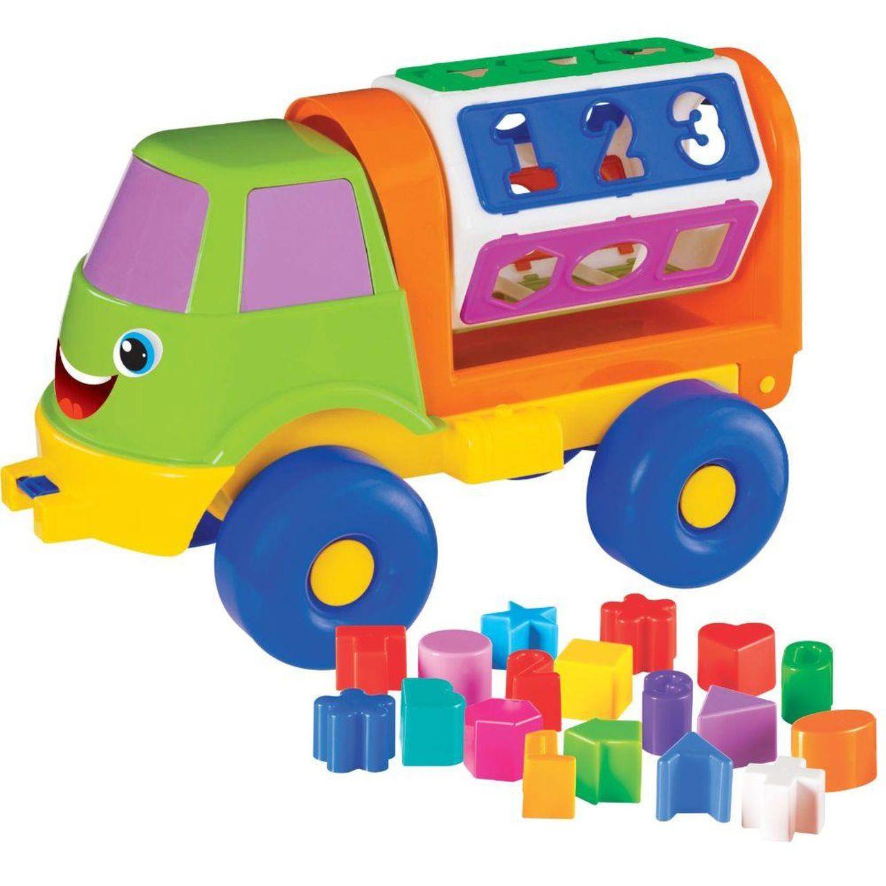 Brinquedo Educativo Caminhão Sorriso - Mercotoys 295