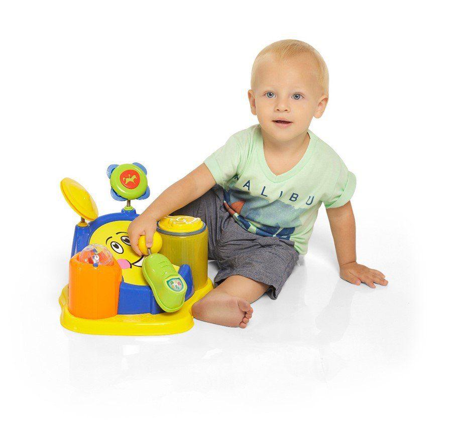 Brinquedo De Bebe Com Musica Tum Tum Tha - Calesita