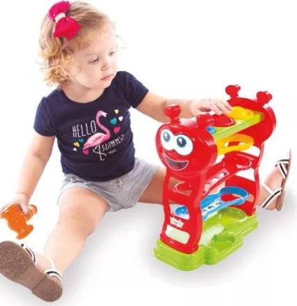Brinquedo Educativo Didático Bebes Baby Péia - Maral
