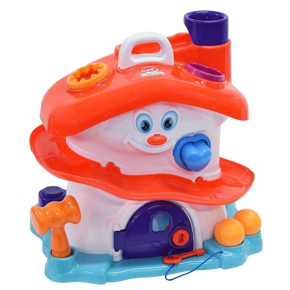 Brinquedo Educativo Didático Casinha Activity House Calesita