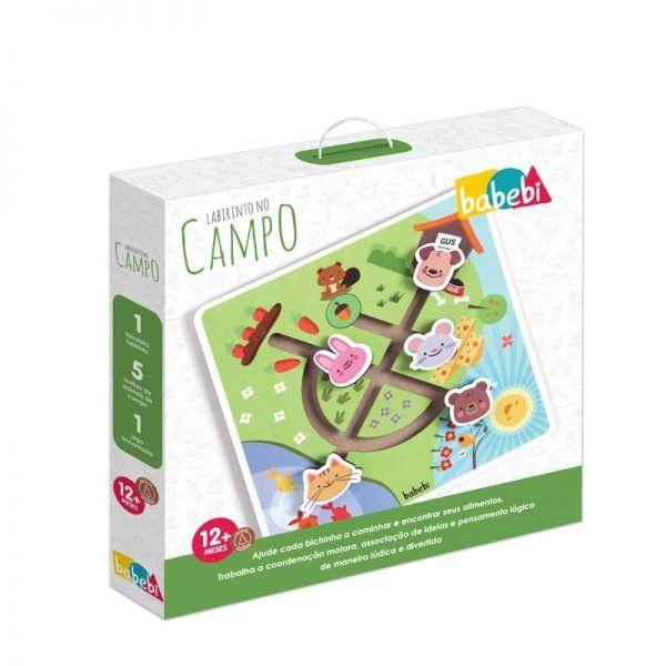 Brinquedo Educativo Labirinto no Campo - Babebi