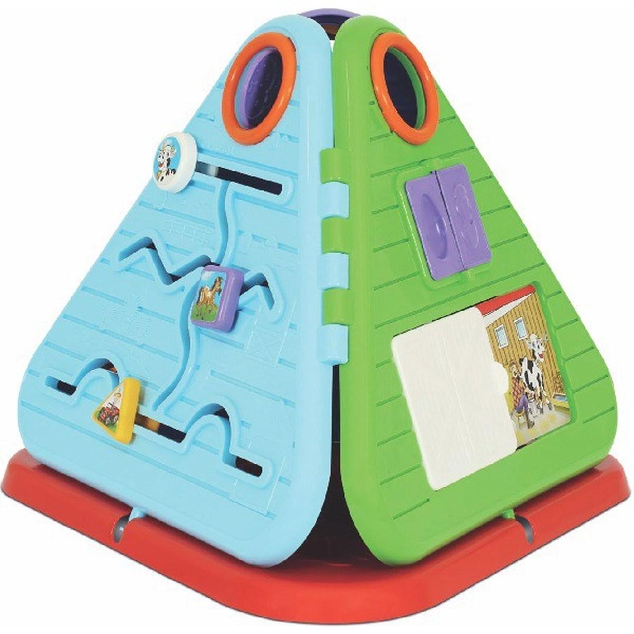 Brinquedo Educativo Pirâmide Festa na Fazenda - Mercotoys