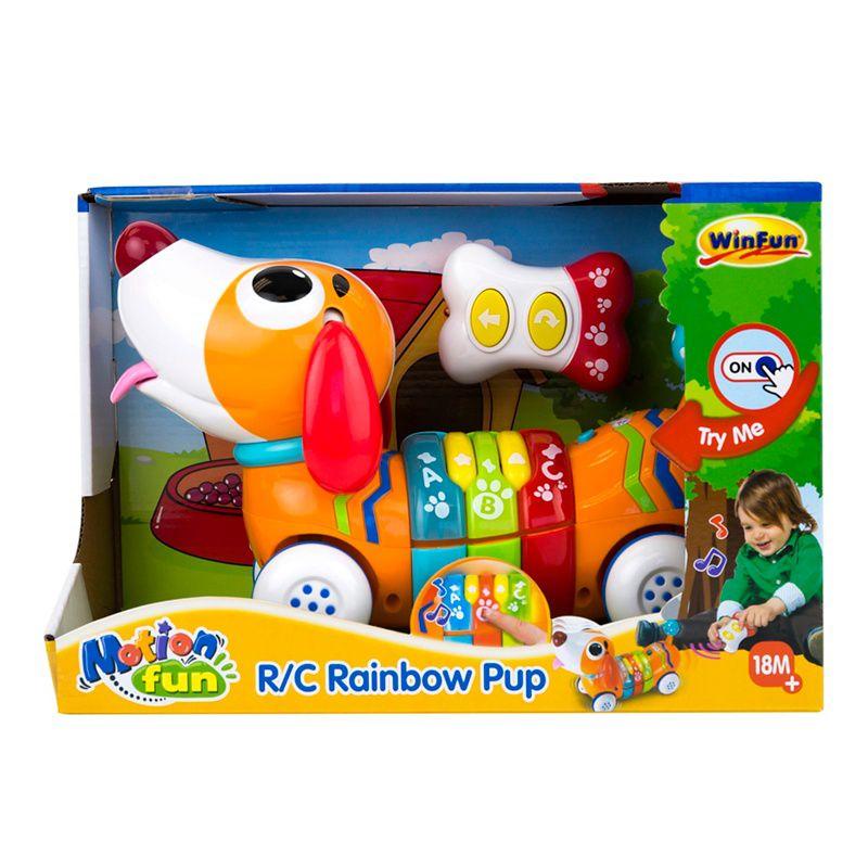 Brinquedo  Educativo  R/C Rainbow Pup Winfun