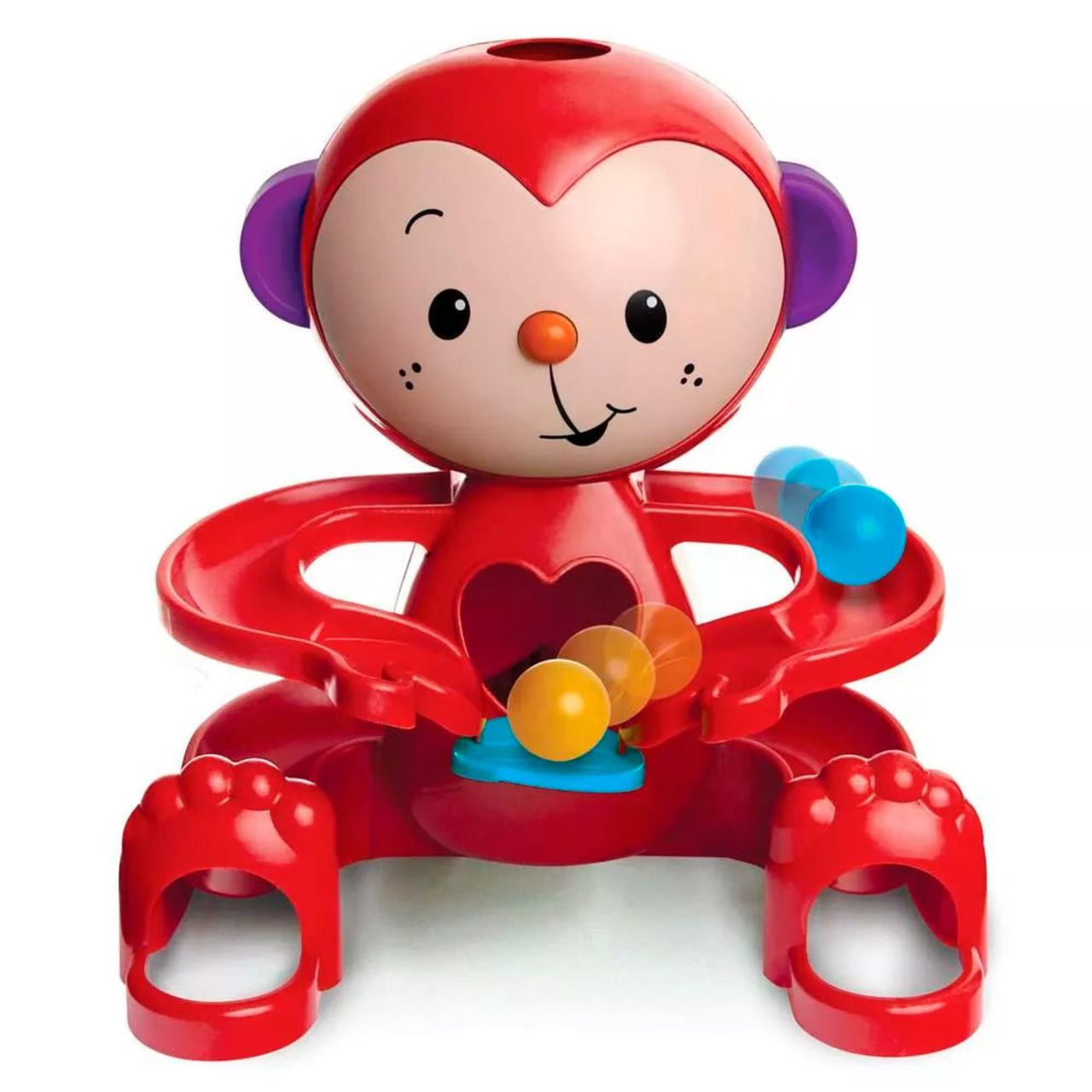 Brinquedo Educativo Zuquinha Escorrega Bolinha - Elka