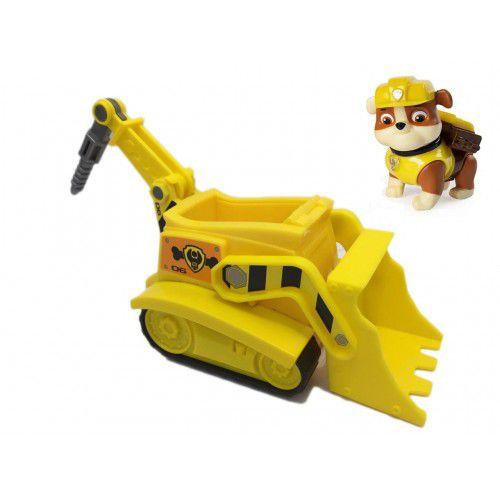 Brinquedo Figura e Veículo Patrulha Canina Rubble - Sunny
