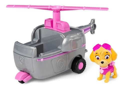 Brinquedo Figura E Veículo Patrulha Canina Skye - Sunny FULL