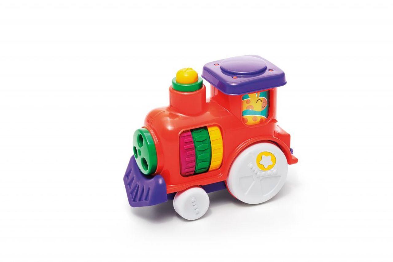 Brinquedo Infantil Anima Trem Com Som - Tateti
